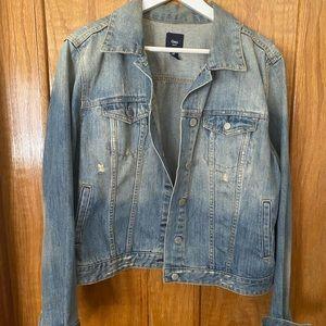 Gap Distressed Jean jacket